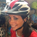 Just 16 days until @bikeVeloSano when we bike to cure. @holliesmiles is getting ready 6:20 @CenturyCycles @wkyc http://t.co/QCr757TB1h