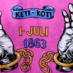 152 jaar geleden, maar daarom niet minder belangrijk. 1 juli, de ketenen verbroken! #ketikoti #kenuwgeschiedenis http://t.co/LYnIYhqPUy