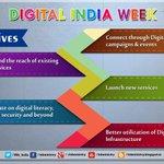 Launch of #DigitalIndiaWeek by PM Shri @NarendraModi. https://t.co/KAi2kwRFpg #DigitalIndia http://t.co/oAY12FbX6w