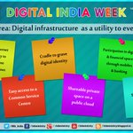 Vision Area:Digital Infrastructure as a utility to every citizen- Launch of #DigitalIndiaWeek by PM Sh. @NarendraModi http://t.co/oVHN1nGLnF
