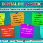 Vision Area: Governance & services on demand #DigitalIndiaWeek Launch by PM Sh.@NarendraModi https://t.co/KAi2kwRFpg http://t.co/fcRjE6x2p1
