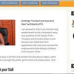 A message from our CEO Natalie Kimbugwe (@natgyovi). Read it on website http://t.co/txtJw0CJMh #Transurancexpo15 http://t.co/H0kSn6pdHF