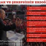 Erdoğana namussuz ve şerefsiz diyeceksin, Erdoğanın adayı AKPli İsmet Yılmazı TBMM Başkanı seçtireceksin! http://t.co/0dZQATOryb