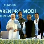 PM Shri @narendramodi launches #DigitalIndiaWeek http://t.co/NzR03JqLYf