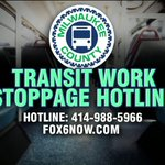"Have questions about how to get around during the ""work stoppage? MCTS has set up a hotline: http://t.co/HdS1wGaFQf http://t.co/j4jaSiqbKb"
