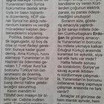 """Suriyeye savaş açarak iktidarı sürdürmeye çalışmak..Yunanistan ın borcunu üstlenerek barış yapmaya..""""@mkirikkanat http://t.co/vUEsja5MVW"""