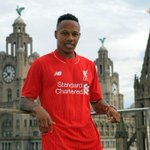 PHOTO: Nathaniel Clyne wears the #LFC jersey for the first time. Read more: http://t.co/jcFQbdcSs7 http://t.co/s1Ix2EzPj6