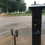 Parking meter rates in less busy areas go from .75 cents an hour to $1.00 an hour.#stl@fox2now http://t.co/QDeUSPcxLy
