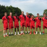 The eight new boys on day one #ctfc http://t.co/Q5AAamnrDe