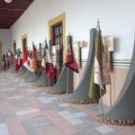 Exposición de Símbolos Patrios en Palacio Municipal como parte de las jornadas #MexicoCivico #Campeche @SEGOB_mx http://t.co/26HsTVyutX