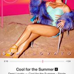 DEMI THIS IS FREAKING AMAZING!!!!! @ddlovato New summer jam!! Everyone go GET IT NOW! Ahhhhhh love love LOVE http://t.co/fEa2W34LOf