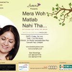 RT @ap_mum: Only 2 days left for CHENNAI to witness the celebrated #Merawohmatlabnahitha.Book now if you haven't. Details below:) http://t.…