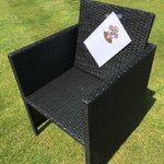Struggled to sell this chair for weeks online, but just put this on it and Brendan Rodgers has bid £8M!! 😂😂 #saintsfc http://t.co/Mi67m4yQo5