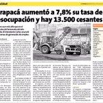"""""""Es necesaria una agenda real y concreta de reactivación económica"""" @RenzoTrisotti, por desempleo #Tarapacá #Iquique http://t.co/TFiDIMp0iz"""