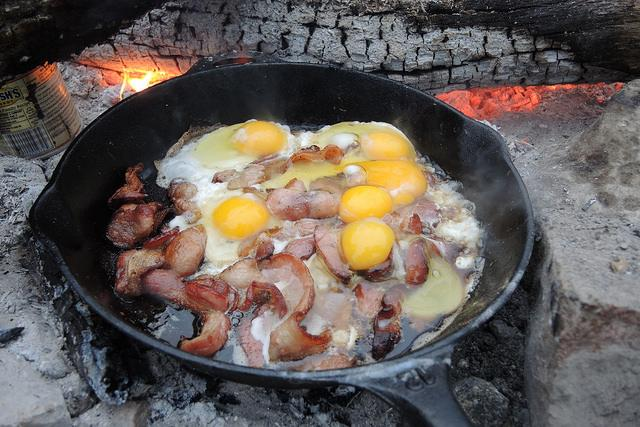 Camping breakfast is the best kind of breakfast! What's your favorite camping meal? http://t.co/wgqEV6zoz3