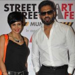 At the Launch of the #StreetSmartStreetSafe Campaign. With Mr the dapper Mr Shetty.. http://t.co/azMep9nSjb