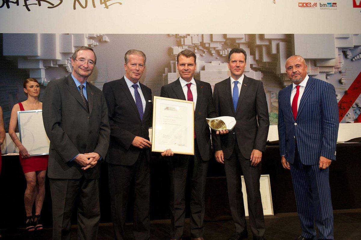 Austrian Airlines wins Austrian Export Prize 2015: