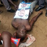 #NEWS: @ugandaupf shoot Former Forum for Democratic Change President @kizzabesigye1s supporter at @FDCOfficial1 http://t.co/qMCPXQiC4v
