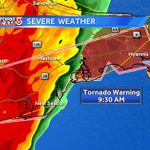 Tornado WARNING for parts of Cape til 9:30. Moving toward Hyannis. @Met_CindyFitz @DanielleVollmar live on #WCVB now. http://t.co/kZzuY1UdrX