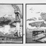 Utopiales festival de science-fiction,du 28 octobre au 2 novembre #Nantes laffiche par Manchu @PaulGiner #Poinfos http://t.co/3vf0nAw6vM
