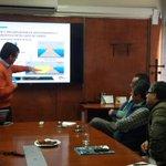 Gremios de transporte conocen trabajos de reconstrucción de @PuertodeIquique junto a autoridades regionales #Iquique http://t.co/vXE0F7K67H