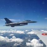 Belgische #F16s in Polen deden 14 intercepties van Russische militaire vliegtuigen, 10 alleen al voorbije 2 maanden http://t.co/wtaVgXWuqw