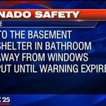STAY SAFE! Follow these tips until the TORNADO WARNING expires in Barnstable! http://t.co/oal0WeO4eN #FOX25storms http://t.co/1yFR2SmkaF