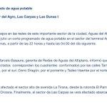CORTE DE AGUA afectará sectores de #Iquique mañana jueves... Vía @aguasaltiplano http://t.co/wO6d6OYoVG