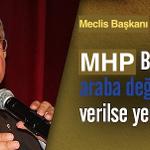 Yeni AKPli Meclis Başkanı İsmet Yılmaz: MHP Başkanı Devlet Bahçeliye araba değil UÇAK versek yeridir http://t.co/lawdDoxw2Z
