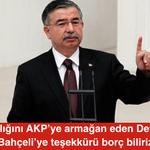 AKPli Meclis Başkanı İsmet Yılmaz: Varlığını AKPye armağan eden Devlet Bahçeliye teşekkürü borç biliriz http://t.co/fSWCqU3Ocf