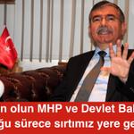 AKPli Yeni Meclis Başkanı: Sakin olun MHP ve Devlet Bahçeli olduğu sürece sırtımız yere gelmez http://t.co/AqPzLQxy9u
