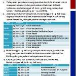 Informasi Jadwal Penukaran Uang Melalui Kas Keliling Bank Indonesia dan Bankaltim. http://t.co/wZcqlFnCvP #RamadhanBpn