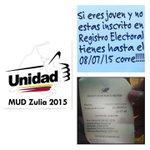 Ya hoy sumamos los 106 inscrito nuevos votantes para mi centro de votación Nelson Gonzalez Cabimas/Zulia http://t.co/1k3tk8OItD