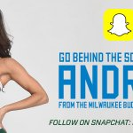Our SnapChat has been taken over by @BucksDancers captain Andrea!! Add us at: Bucksdotcom http://t.co/zpTKEymGs9