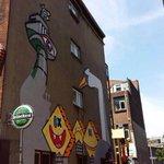 Hoog tempo bij Lastplak, geen siësta nodig! #rewriters010 #rotterdam #graffiti #streetart http://t.co/N0h6KoCtXR