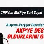CHPden MHPye Sert Tepki http://t.co/m1KYCIkfjq http://t.co/aRwckoulqh
