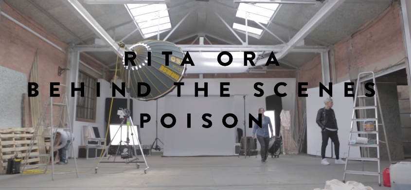 RT @SonyMusicUK: Get behind the scenes with @RitaOra on the set of her new #Poison video! http://t.co/727yu1ZxG4 #BTS http://t.co/zGN7RHvuMb