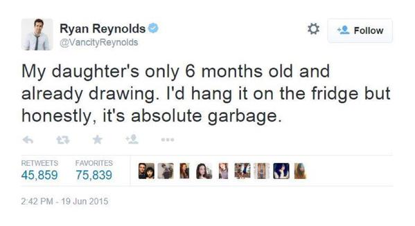 lol Ryan Reynolds is SAVAGE!