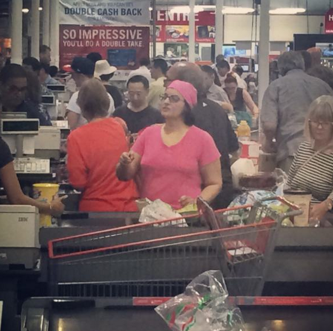 Meg Griffin spotted at my local CostCo