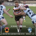 FULL-TIME: @OfficialBullsRL 18-37 @InfoFevRovers - Match report and reaction to follow... http://t.co/wDMG5ikEkJ