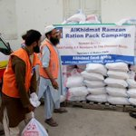 Volunteers of #AKF busy in arranging Ration packages distribution in #Karachi #Pakistan http://t.co/h5b9G7Ys9J