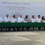 """Participa @UACamRector en las actividades de las Jornadas """"México Cívico"""" organizado por la Sria. de Gobernación. http://t.co/kMxhYv0d1w"""