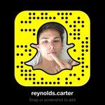 screenshot and add me on snapchat: reynolds.carter http://t.co/jRaOTsQEcZ