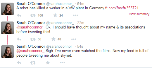 A sad story, here, http://t.co/sDwz8bV5zb has led to a very odd twitter problem for @SarahOConnor_ http://t.co/RwXMxRpcBM