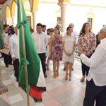 """Exposición """"Los Símbolos Patrios"""" en Palacio Municipal; Jornadas Estatales México Cívico. @ferortegab @JorgeArgaez http://t.co/PoC41Sca6s"""