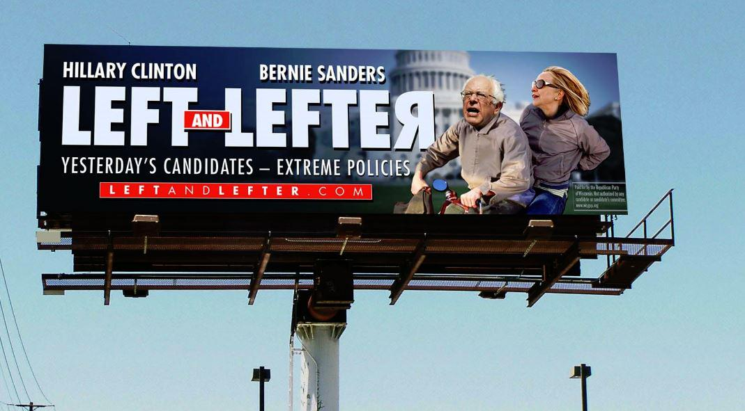 Great story from @RedAlert highlighting @wisgop's welcome billboards for @BernieSanders. http://t.co/sSwPQdOgUS http://t.co/VZQjSpoWVO