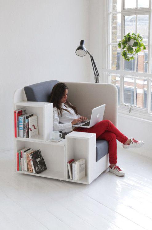 Inspiration Deco Le Bureau Cube Deco Maison Design Bureau