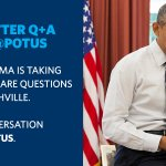 .@POTUS will be answering your questions on health care and the Affordable Care Act at 3:30pm ET. Use #AskPOTUS! http://t.co/PheYWmHaQz