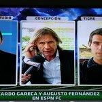 """Augusto Fernández a Gareca: """"Qué bueno que le hayas dado a Perú esa identidad cara dura de no respetar a nadie"""" http://t.co/YfJIfROq9h"""