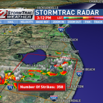 Significant Weather Advisory in effect until 330pm for inland Palm Beach county for this storm, moving west http://t.co/juVFLEmD5p